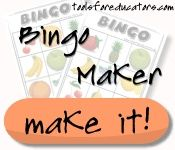Feelings Word Bingo board game maker...This site also has a variety of DIY activities for teaching feelings and emotions.