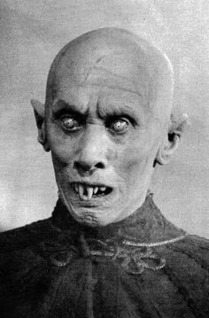 The very creepy vampire of Nosferatu (1922) is only seen on screen for approx. nine minutes in total throughout the whole film