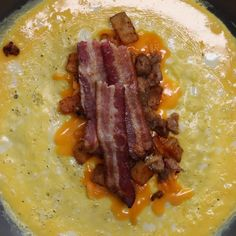 Bacon & Sausage Egg Wrapped Breakfast Burrito Recipe by Tasty