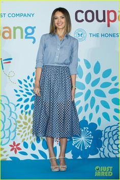 jessica alba is forbes americas richest self made women 05 Jessica Alba is all smiles while attending her press conference for E-commerce company Coupang with Honest co-founder Christopher Gavigan at the Grand Intercontinental…