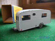 MATCHBOX LESNEY CARAVAN & BOX C1960 VINTAGE DIE CAST TOY - http://www.matchbox-lesney.com/?p=18042