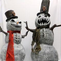 zombie snowman class at Stolloween in Midland, MI... I so wanna go!!!