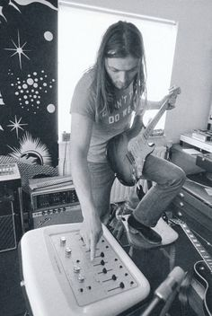 David Gilmour 1972 from the book Pink Floyd - The Black Strat