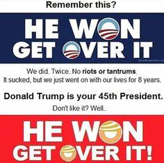 He won. Get over it!