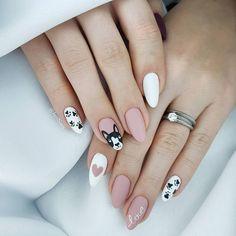 80 Pretty Acrylic Short Almond nails Design You Can't Resist In fall acrylic nails short - Fall Nails Pretty Nail Designs, Pretty Nail Art, Nail Designs Spring, Almond Acrylic Nails, Fall Acrylic Nails, Spring Nail Colors, Spring Nails, Fall Nails, Short Almond Nails