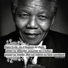 Nelson Mandela was the first African American was elected president in South Africa. He spent 27 years in prison. He shared the Nobel Peace Prize with F.w De Klerk. Nelson Mandela, Some Quotes, Best Quotes, Wisdom Quotes, Good Quotes For Instagram, Quote Citation, Artist Quotes, Positive Mind, Positive Affirmations