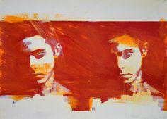 """Saatchi Art Artist Mark Horst; Drawing, """"glimpses no. 15"""" #art"""