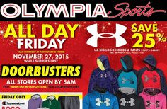 Olympia Sports Black Friday 2015 Deals & Full Ad List  #blackfriday #olympiasports http://gazettereview.com/2015/11/olympia-sports-black-friday-2015-deals-full-ad-list/
