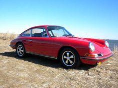 1968 Porsche 911 S Polo Red