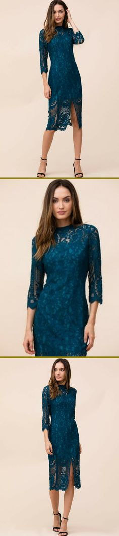 Featuring a romantic lace overlay and sophisticated midi length, our Leading Lady Dress is your new cocktail hour go-to. Perfect for weddings, dinner, or holiday parties.  #CocktailDresses #PerfectDress #GiftsForHer #affiliate  #HolidayWear #WeddingSeason #YumiKim