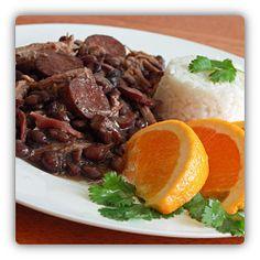 Brazil (South America) - Feijoada (pronounced [fejʒuˈadɐ]) is national food (dish) of Brazil