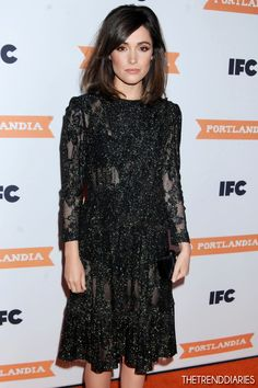 Rose Byrne at IFC's 'Portlandia' Season 3 New York Premiere held at the American Museum of Natural History in New York City, New York - December 2012 Mo Hair, Hair Dos, Rose Byrne Hair, Trendy Fashion, Fashion Beauty, Fashion Ideas, Her Style, Cool Style, Fancy Hairstyles