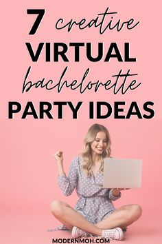 Bachelorette parties 680888037402463984 - Planning a virtual bachelorette party? Here are 7 creative ideas to make your bash one to remember! Source by modernmoh Bachelorette Party Planning, Bachlorette Party, Spinster Party, Karaoke Party, Electronic Invitations, Party Activities, Party Games, Creative Ideas, Fun Ideas
