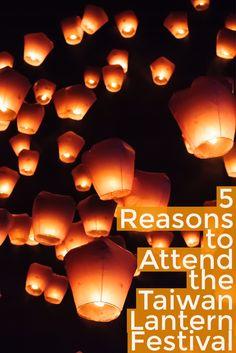 5 Reasons to Attend the Taiwan Lantern Festival #Asia #Asiatravel #travel #Taiwan #taipei #newyears via @LiveLearnVentur