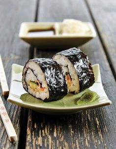 Apetit-reseptit - Sushirullat eli Maki-sushi