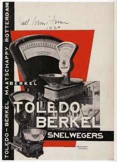 Paul Schuitema, Toledo-Berket 1930s. Berkel advertisement
