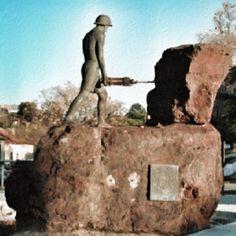 Monumento al Minero-Minas de Riotinto (Huelva)-Spain