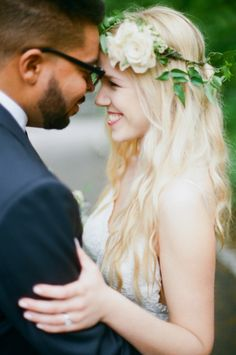 Keep it natural: http://www.stylemepretty.com/2015/06/03/20-bridal-flower-crowns-we-love/