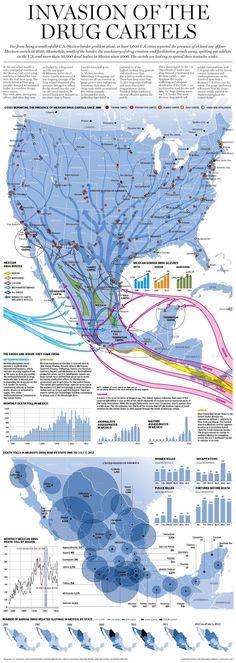 Le strade dei cartelli della droga, dal Messico agli Stati Uniti | Il Post