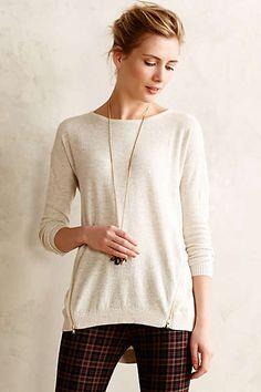 Zipside Pullover