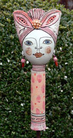 Gartenfiguren - Pamina J - ein Designerstück von Brigitte_Peglow bei DaWanda