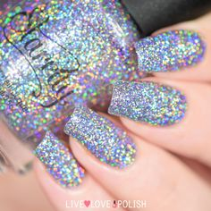 Holo Glitter Nail Polish - When women think of adorning that little black gown or new trendy' leading, they immediately thin
