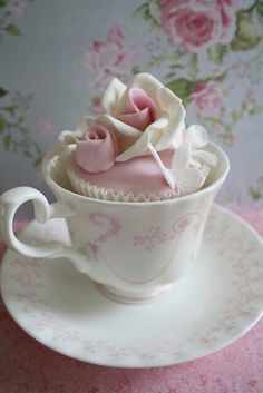 Tea Time - this is so pretty!
