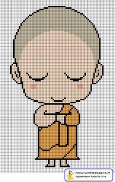 Bebe Buda En Punto De Cruz