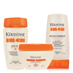 This is the best product for my unruly thick, coarse hair! NUTRITIVE FOR DRY, THICK HAIR 3-STEP REGIMEN