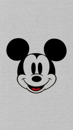 ミッキーマウス/クラシック かわいい笑顔iPhone壁紙 iPhone 5/5S 6/6S PLUS SE Wallpaper Background