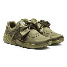 6471950d1ea869 Fenty Puma x Rihanna Women s Satin Bow Sneakers ( 160) ❤ liked on Polyvore  featuring