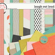 Laugh Out Loud | Papers http://the-lilypad.com/store/Laugh-Out-Loud-Papers.html