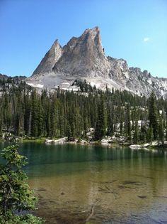 Sawtooth Mountain Range, Idaho.