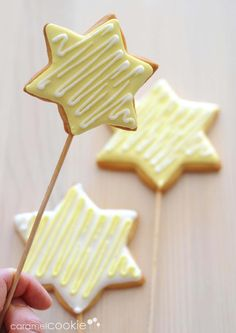 ideas about Star Cookies on Star Cookies, Iced Cookies, Cut Out Cookies, Royal Icing Cookies, Holiday Cookies, Cupcake Cookies, Cupcakes, Christmas Sweets, Christmas Goodies