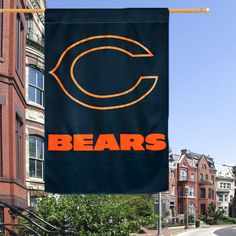 "Chicago Bears 29"" x 43"" Glitter Suede House Vertical Flag - $27.99"