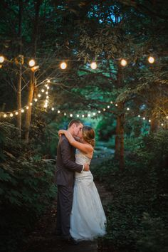 The use of lights in this area make for a dreamy photo escape.