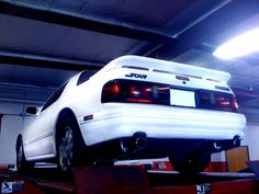 #FC #Rx7 - when I put the RB exhaust on, December 2010