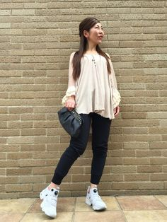 aco(Bijouterie euro flat)|Reebokのスニーカーを使ったコーディネートWEAR outfit