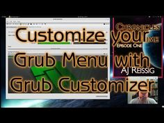 Customize your Grub Menu with Grub Customizer - YouTube
