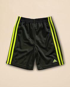 Adidas Boys' Impact Mesh Shorts - Sizes 2T-4T