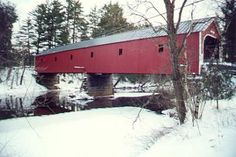 New Hampshire Covered Bridges - West Swanzey Bridge Driven over this bridge many times.