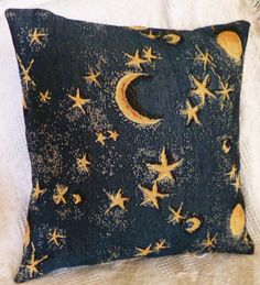 Celestial Decorative Throw Pillow Cover by CandysCreationsetc, $15.00