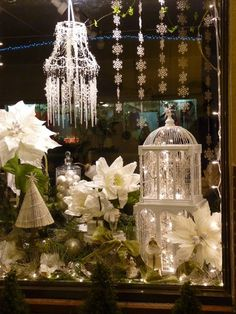 Beautiful window display