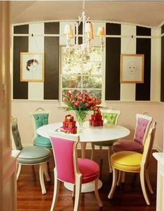 Use Mixed Dining Chairs In Dining Rooms | Shelterness
