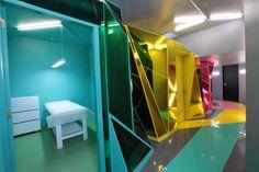 Wax Revolution Polanco depilation salon by ROW Studio, Mexico City store design