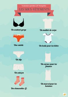 French vocabulary - Underwear
