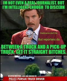 The media is one of the greatest sources of propaganda.    PLEASE SHARE. #dashcam #EpicFail #dashcamvideos #roadrage #insane #deathwish