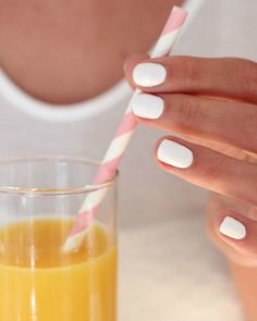 """Summer Nails: Essie's """"blanc""""   The Daily Dose"""