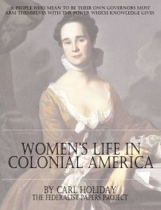 Women's Life In Colonial America