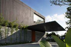 Ocean Drive House I - Singapore - Architecture Singapore Architecture, Residential Architecture, Contemporary Architecture, Scda Architects, Resort Villa, Ocean Drive, Modern House Design, Facade, Entrance